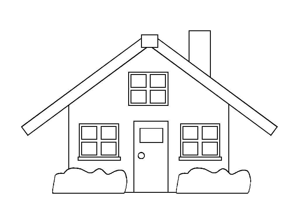 Desenhos De Casas Desenhos Para Colorir E Imprimir