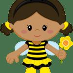 Abelha 02 – PNG – Fundo Transparente