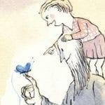 A Mariposa Azul – História Infantil