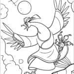 Desenhos para Colorir e Imprimir do Kung Fu Panda