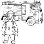 Desenhos para Colorir do O Bombeiro Sam