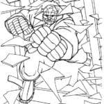 Desenhos do O Quarteto Fantástico para Colorir e Imprimir