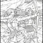Desenhos para Colorir e Imprimir Tomb Raider