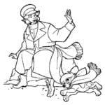 Desenhos da Anastasia para Colorir e Imprimir