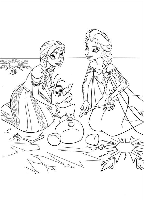 120 Imagens Da Frozen Para Colorir E Imprimir Desenhos Para
