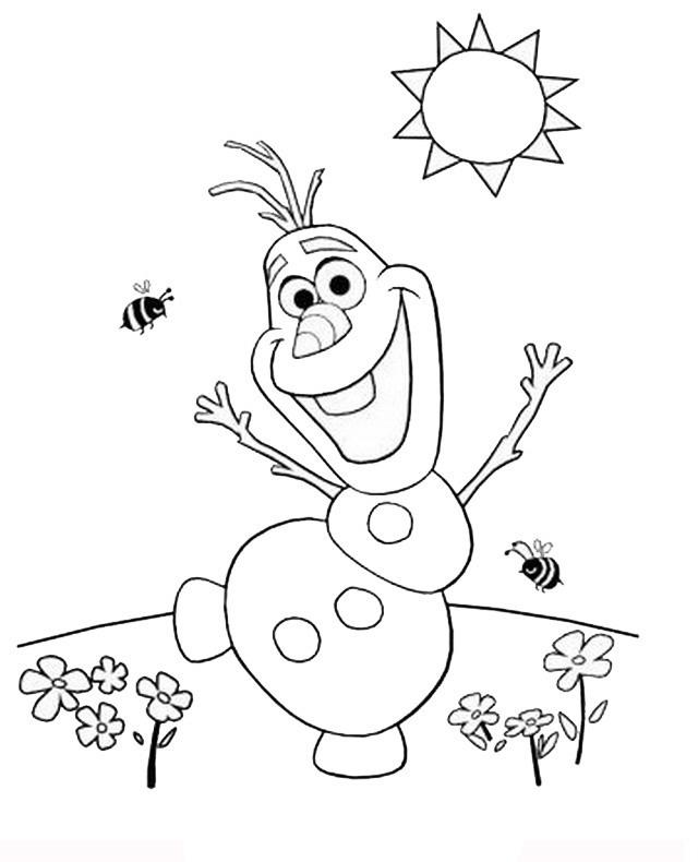 120 Imagens Da Frozen Para Colorir E Imprimir Desenhos