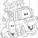 Desenhos para Colorir e Imprimir de Carros