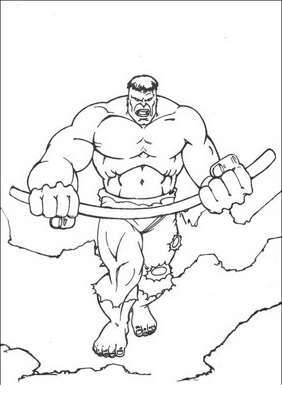 Imagens Para Colorir Desenhos Para Colorir E Imprimir Do Hulk