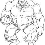 Desenhos para Colorir e Imprimir do Hulk