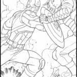 Desenhos para Colorir e Imprimir – Vingadores: Ultimato