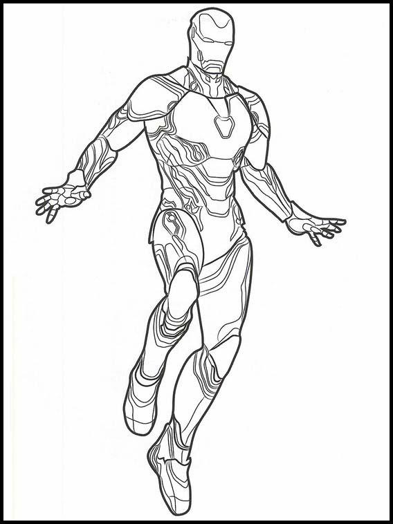 Desenhos De Os Vingadores Para Colorir E Imprimir