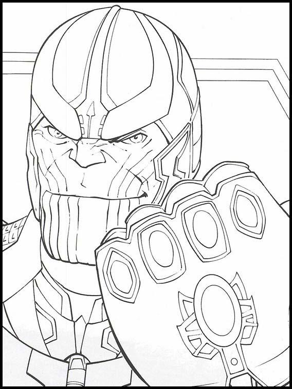 Desenhos De Os Vingadores Para Colorir Paginas De Colorir