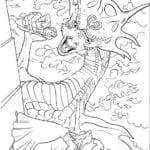 Desenhos para Colorir e Imprimir da Cinderela