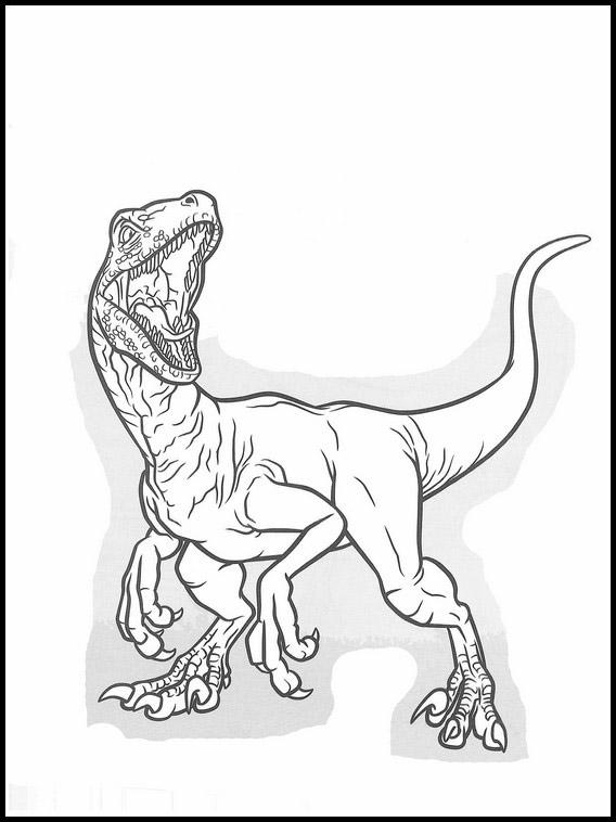 Desenhos De Jurassic Park Para Colorir E Imprimir