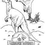 Páginas para Colorir e Imprimir de Jurassic Park