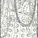 Figuras para Colorir e Imprimir do Doctor Who