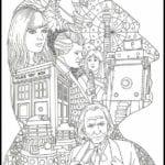 Imagens para Colorir e Imprimir do Doctor Who