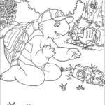 Desenhos para Colorir e Imprimir do Franklin