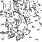 Imagens para Colorir e Imprimir do Franklin