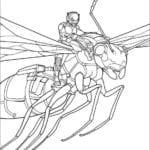 Desenhos do Homem-Formiga para Colorir e Imprimir
