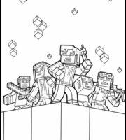 Arquivos Desenhos Para Imprimir Minecraft Authenticgames