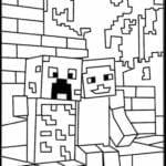 Desenhos para Colorir e Imprimir do Minecraft