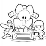 Desenhos para Colorir e Imprimir do Pocoyo