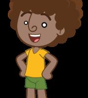 Mundo Bita - Personagem Dan PNG