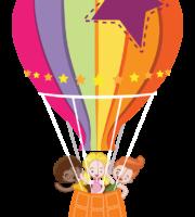 Turma Mundo Bita Amigos Balão