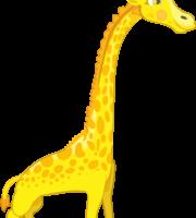 Turma Mundo Bita Animais Girafa