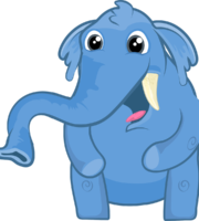 Turma Mundo Bita Animais Elefante