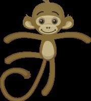 Turma Mundo Bita Animais Macaco