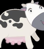 Turma Mundo Bita Animais Vaca