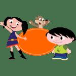 O Show da Luna CLIPART PNG 02
