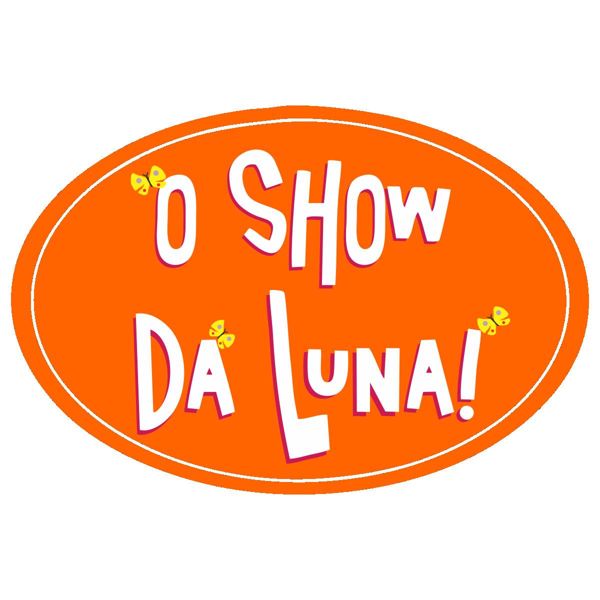 O Show da Luna Logo, luna's show, Lunas Show, show de luna