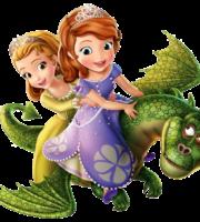 Princesinha Sofia e Personagens PNG