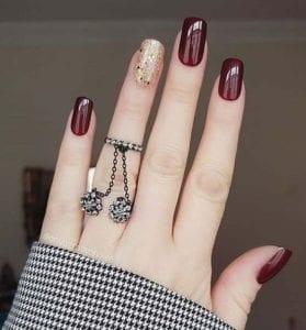 Unhas-vermelhas-decorada-Red nails-Uñas rojas-Rote Nägel