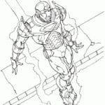 Desenhos do Homem de Ferro para Colorir e Imprimir