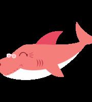 Grandma Shark PNG