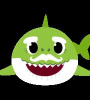 Grandpa Shark PNG