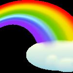 Arco-íris imagem PNG 11