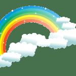 Arco-íris imagem PNG 24