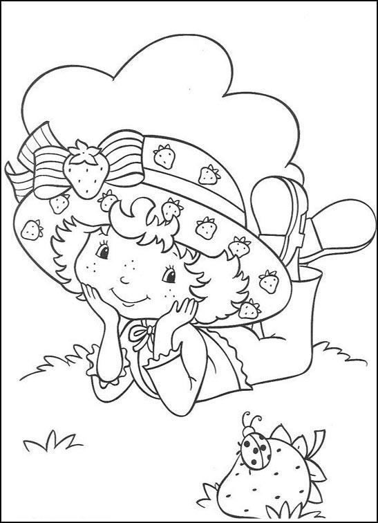 Desenhos Da Moranguinho Para Colorir E Imprimir Desenhos Para Pintar