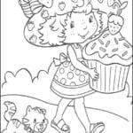 Desenhos da Moranguinho para Colorir e Imprimir