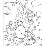 Desenhos do O Galinho Chicken Little para Colorir