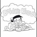 Desenhos para Colorir e Imprimir O Fantástico Mundo de Bobby