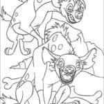 Desenhos para Colorir e Imprimir O Rei Leão