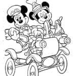 Desenhos para Colorir e Imprimir do Mickey Mouse