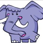 Galinha Pintadinha Elefante PNG 02
