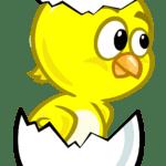Galinha Pintadinha – Pintinho Amarelinho Ovo 03 PNG